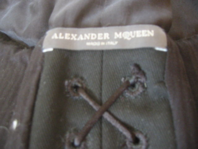 Alexander McQueen Pirate collection chiffon Corset Spring '03 7
