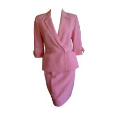 Thierry Mugler Sexy Vintage  Suit with  Bow Bracelet Sleeve