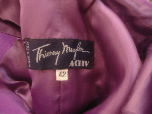 Thierry Mugler Rockin Ski Jacket w Faux Fur Hood and Trim 8