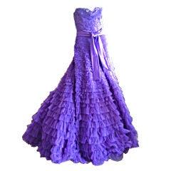 Zuhair Murad Haute Couture Evening Gown