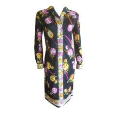 Emilio Pucci Classic Silk Jersey Vintage Dress