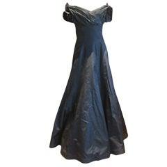 Murray Arbeid elegant black off the shoulder gown