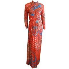 Malcom Starr silk dress