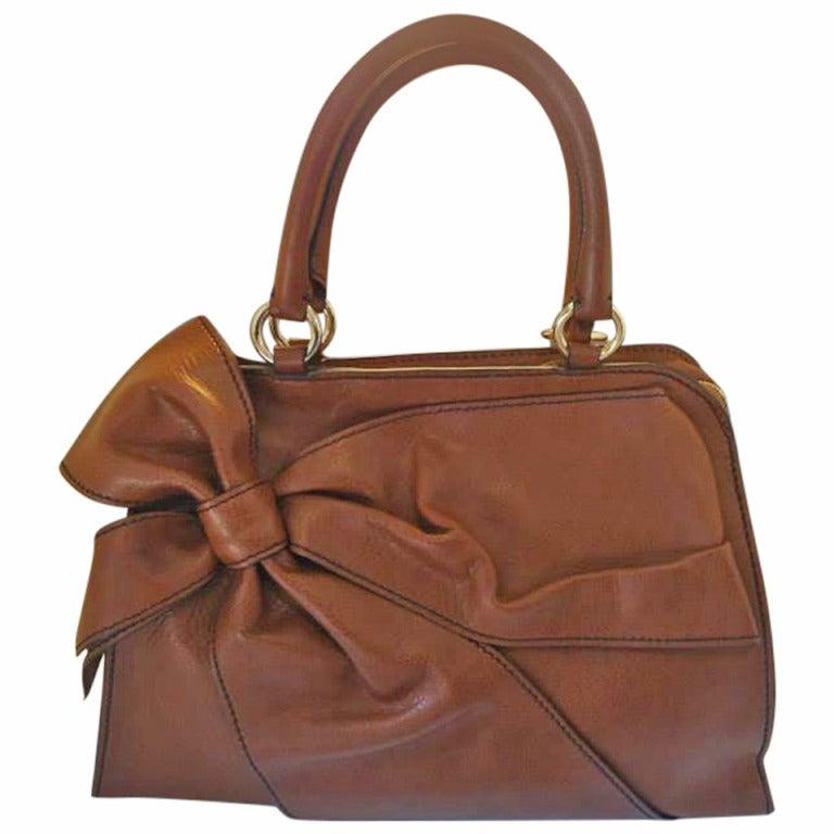 Valentino Garavani Soft Leather Handbag 1