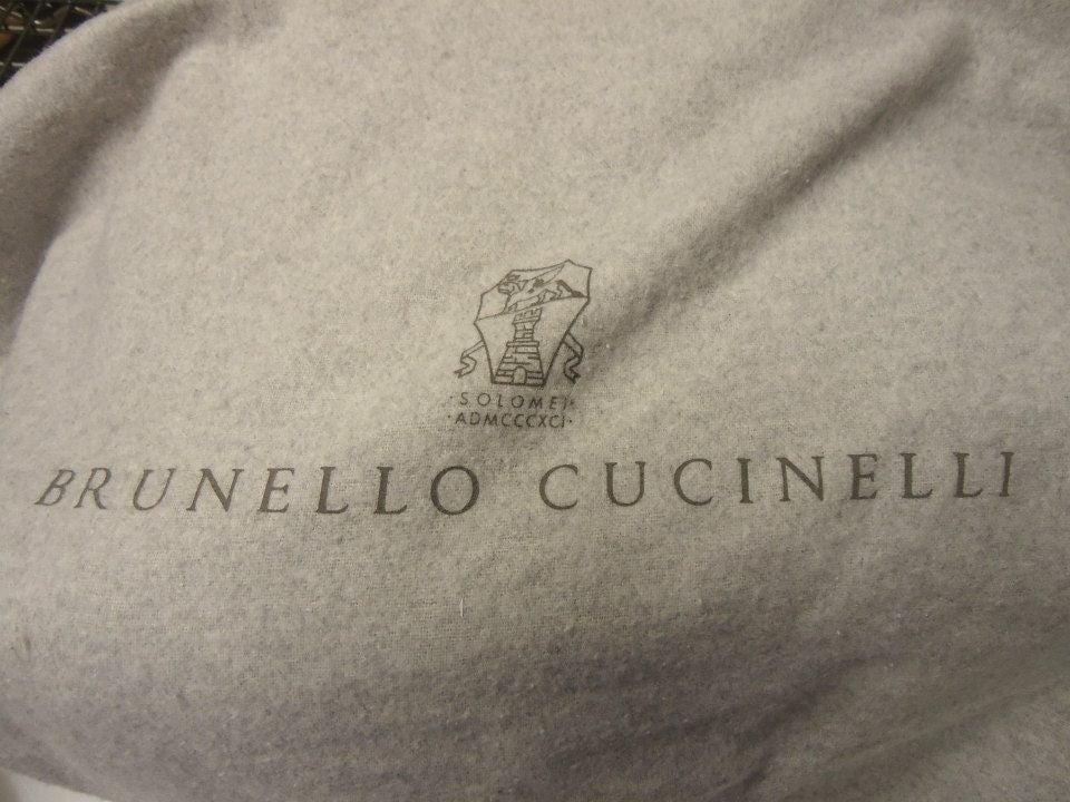 Brunello Cucinelli Grey Sheepskin Handbag at 1stdibs