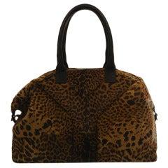 Yves Saint Laurent Calf Hair Easy Bag