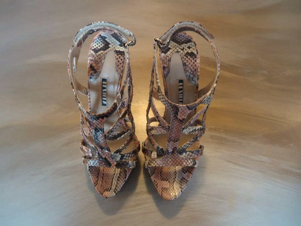 Le Silla Reptile High Sandal Size 38,5 (IT) 2