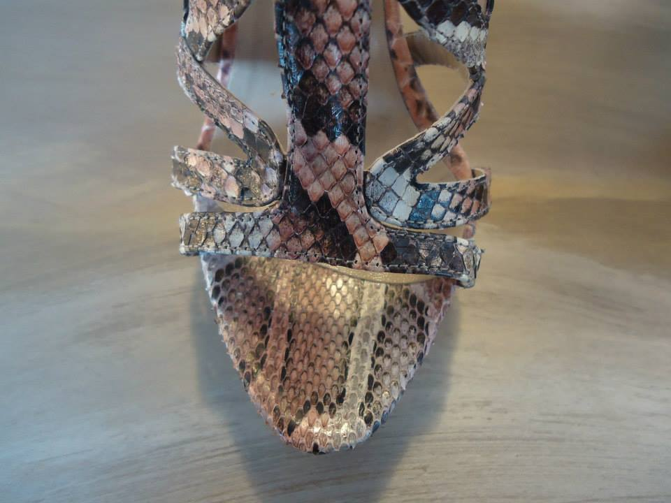 Le Silla Reptile High Sandal Size 38,5 (IT) 4