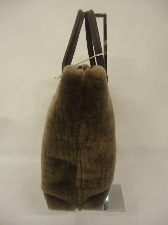 Brunello Cucinelli hazel sheepskin handbag at 1stdibs