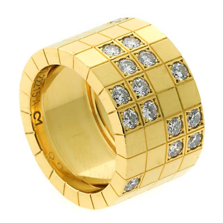 cartier lanieres yellow gold ring for sale at 1stdibs