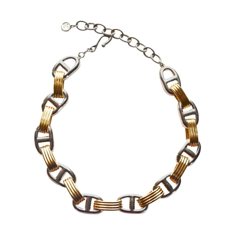 givenchy chunky chain link necklace at 1stdibs