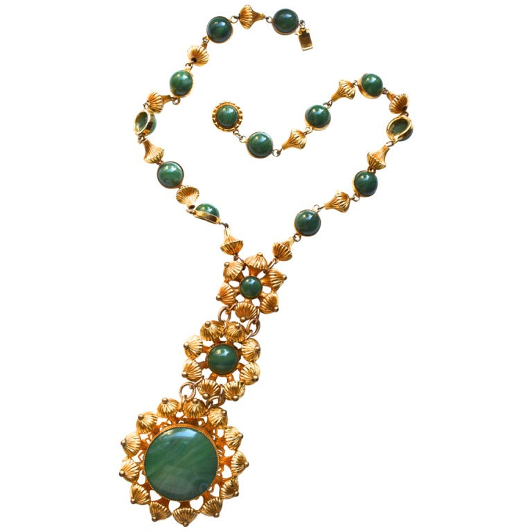 William de Lillo Etruscan Bead Necklace For Sale
