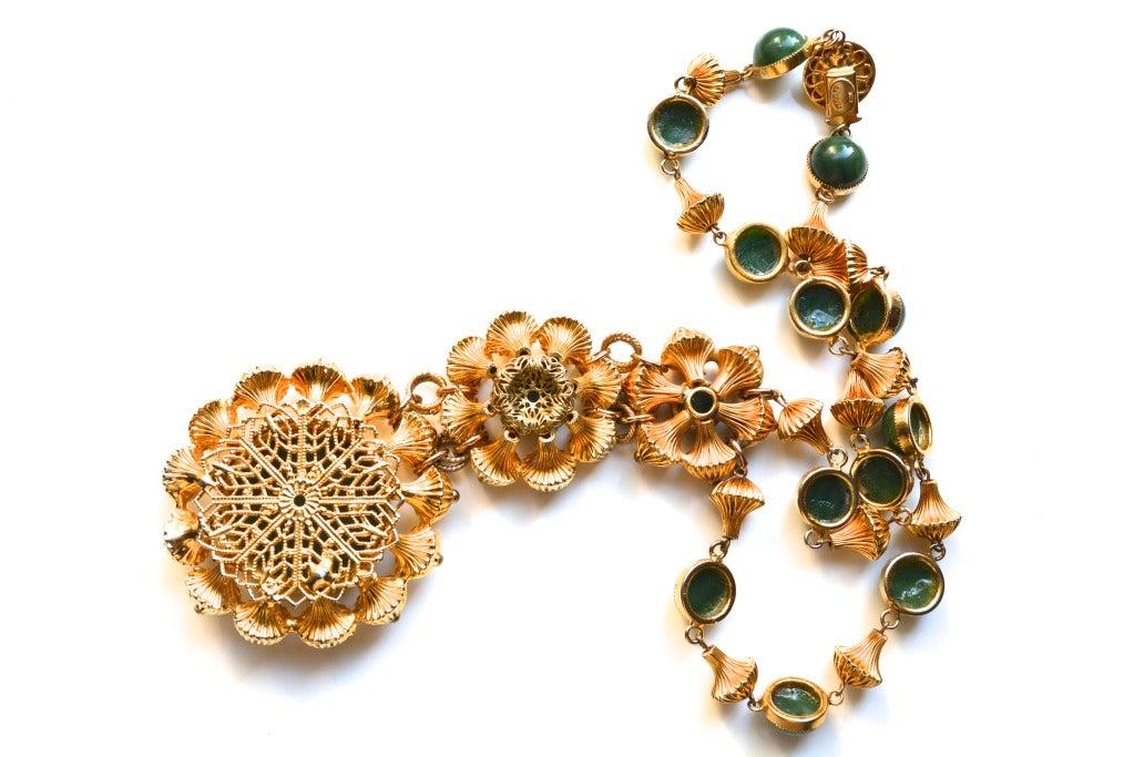 Women's William de Lillo Etruscan Bead Necklace For Sale