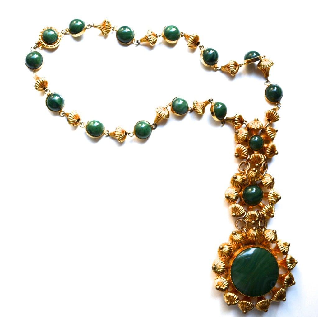William de Lillo Etruscan Bead Necklace For Sale 1