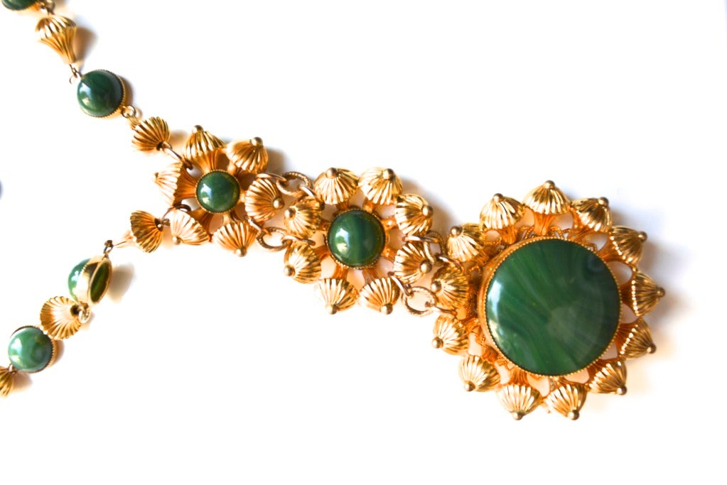 William de Lillo Etruscan Bead Necklace For Sale 2