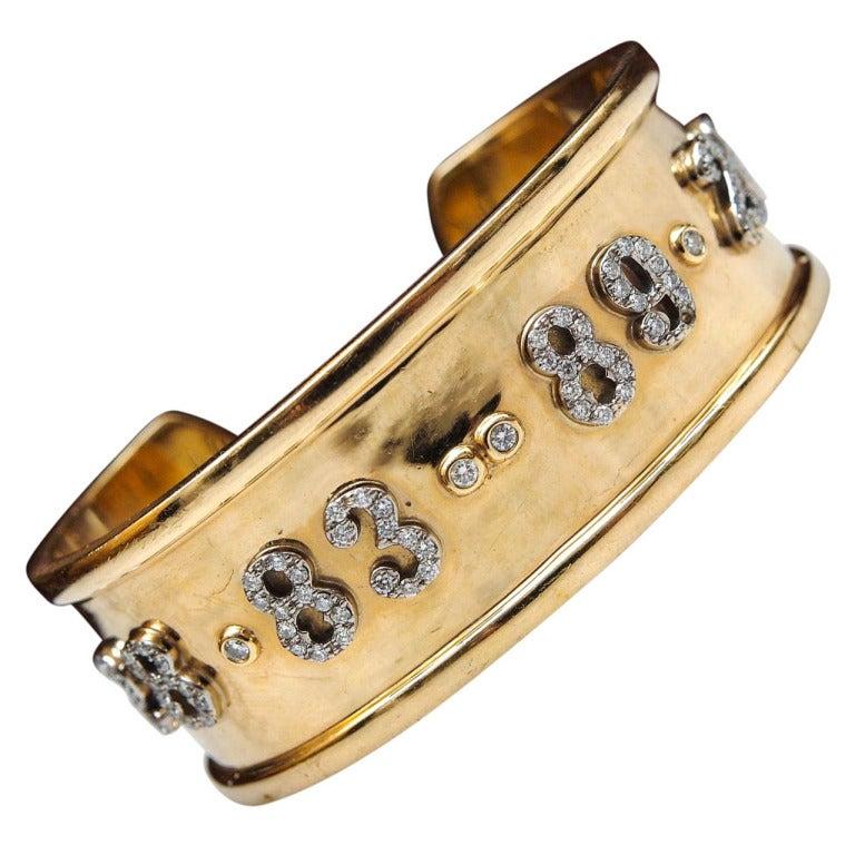 Memoire Collection Cuff Bracelet