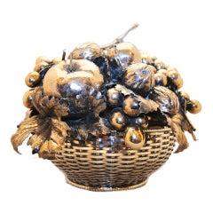 Mario Buccellati  silver fruit basket