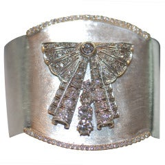 Fabulous Modern Diamond Cuff