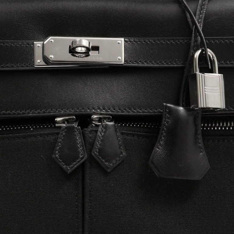 price of hermes birkin - Hermes Black Kelly Lakis Bag at 1stdibs
