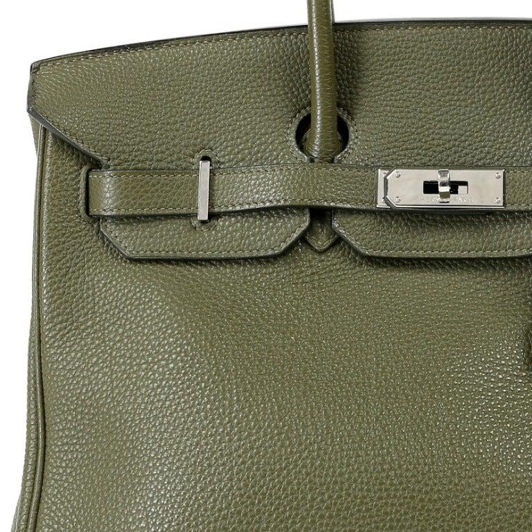 replica hermes - Hermes Olive Green Birkin Bag at 1stdibs