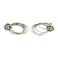 Antonio Pineda Sterling Silver Earrings