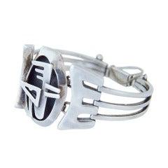 Salvador Teran Sterling Silver Bracelet