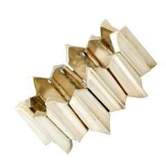 Antonio Pineda .970 Silver Modernist Bracelet
