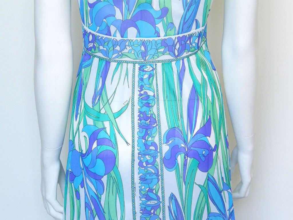 Emilio Pucci Floral Slip Dress 5