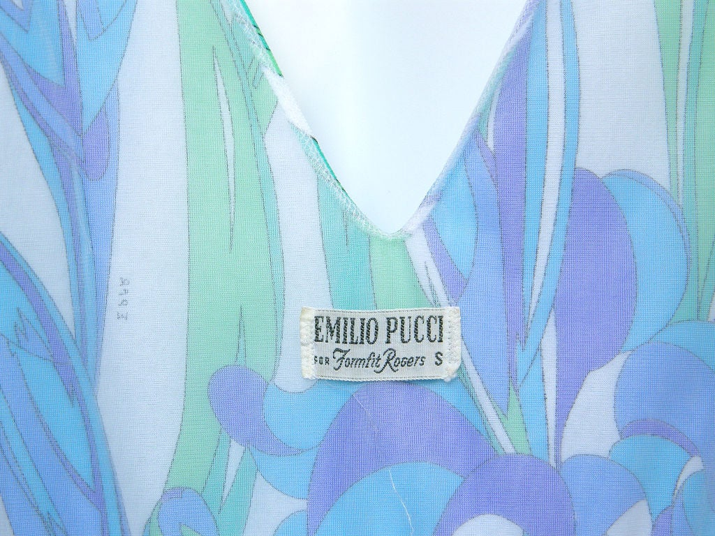 Emilio Pucci Floral Slip Dress 8