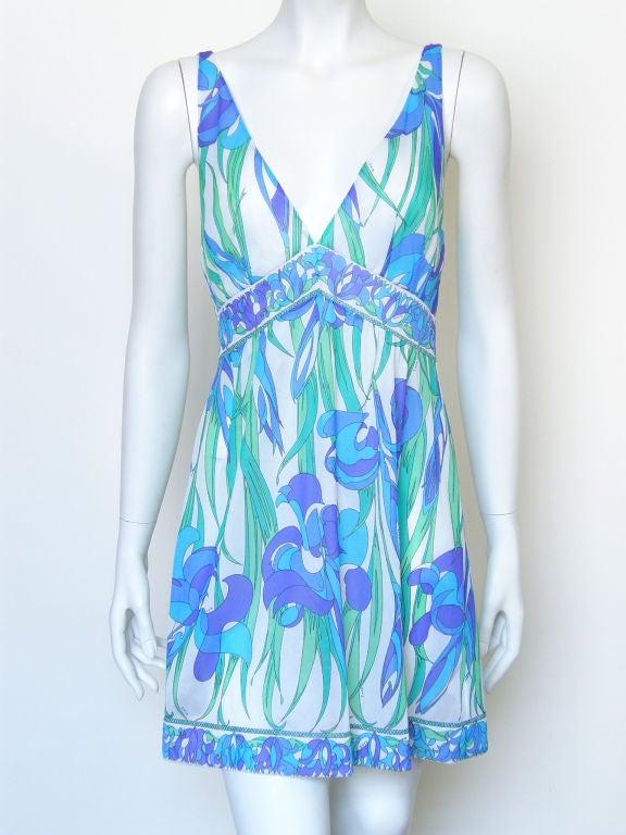 Emilio Pucci Floral Slip Dress 9