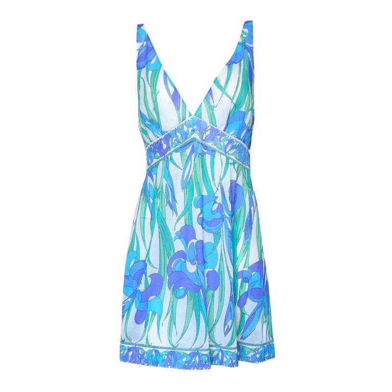 Emilio Pucci Floral Slip Dress 1