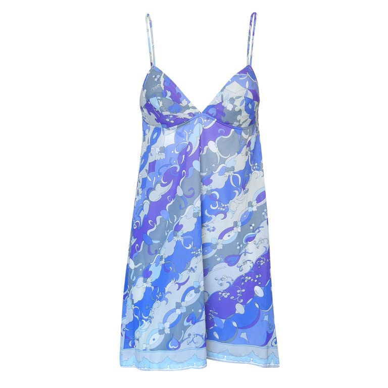 Emilio Pucci Slip Dress 1