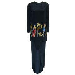 Geoffrey Beene Two Piece Dress