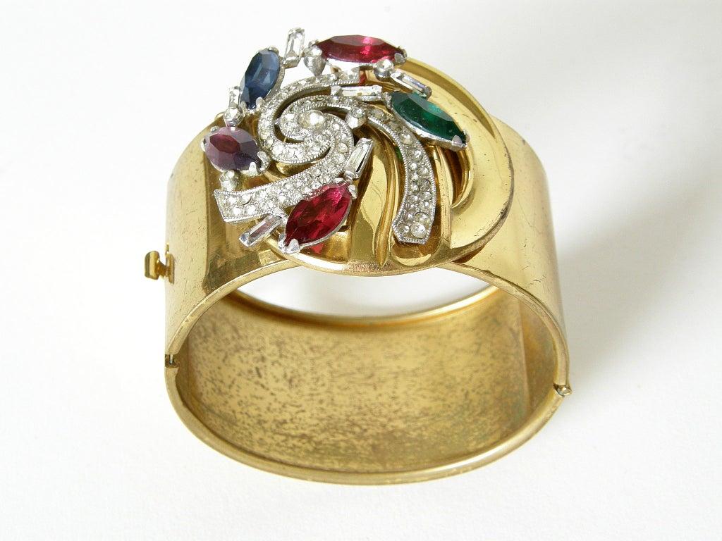 McClelland Barclay Art Deco Necklace and Bracelet Set 4
