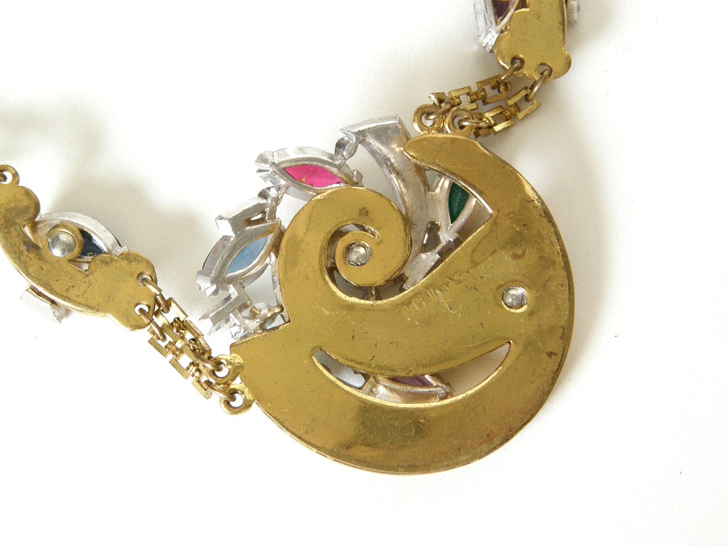 McClelland Barclay Art Deco Necklace and Bracelet Set 7
