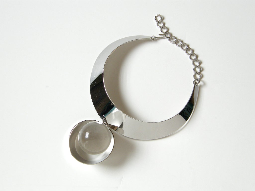 Space Age Trifari Necklace For Sale 4