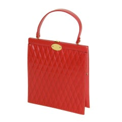 Quilted Leather Handbag by Prestige