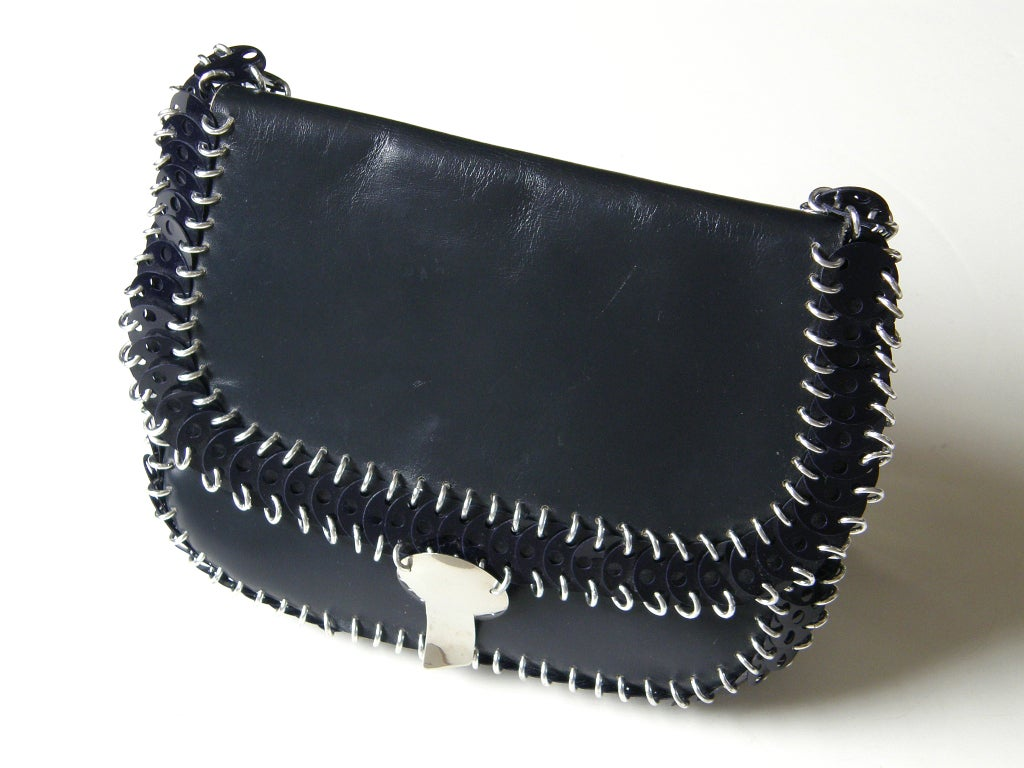 Paco Rabanne Shoulder Bag In Excellent Condition For Sale In Chicago, IL
