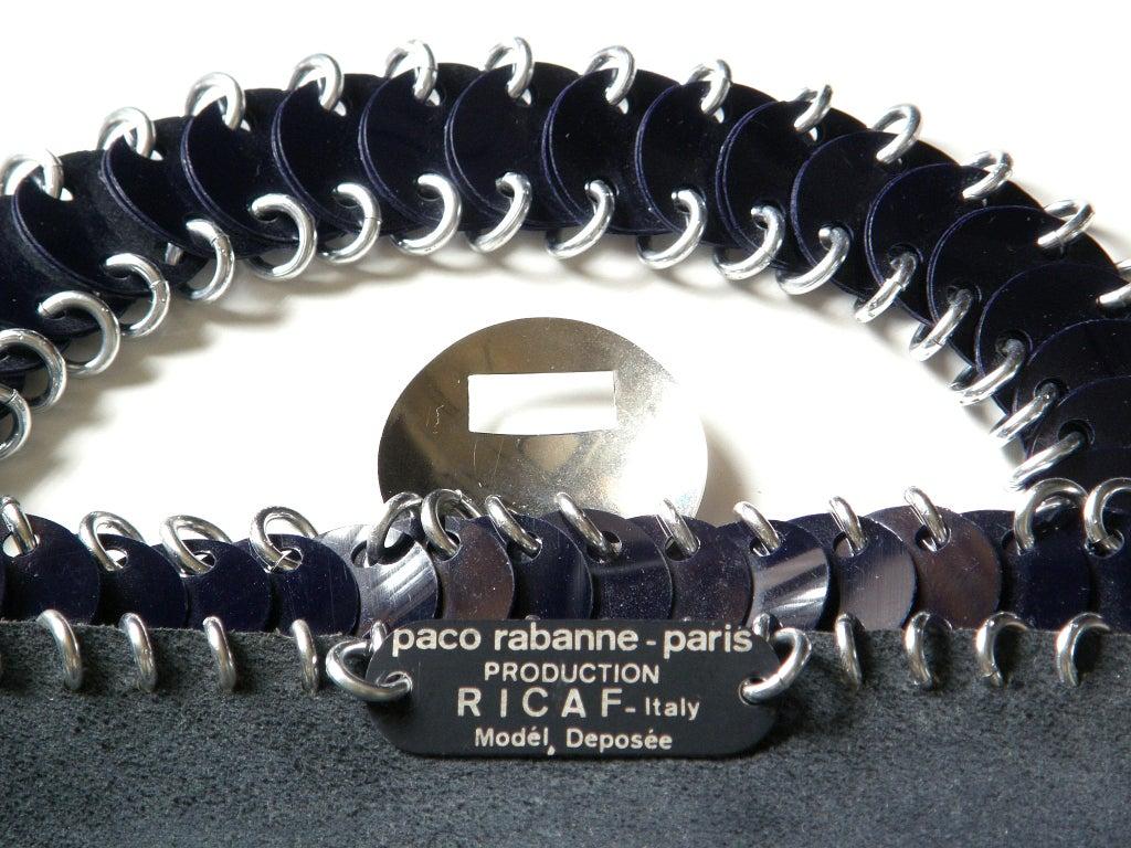 Paco Rabanne Shoulder Bag For Sale 3