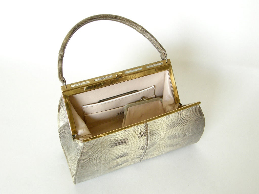 Bellestone Lizard Handbag 6
