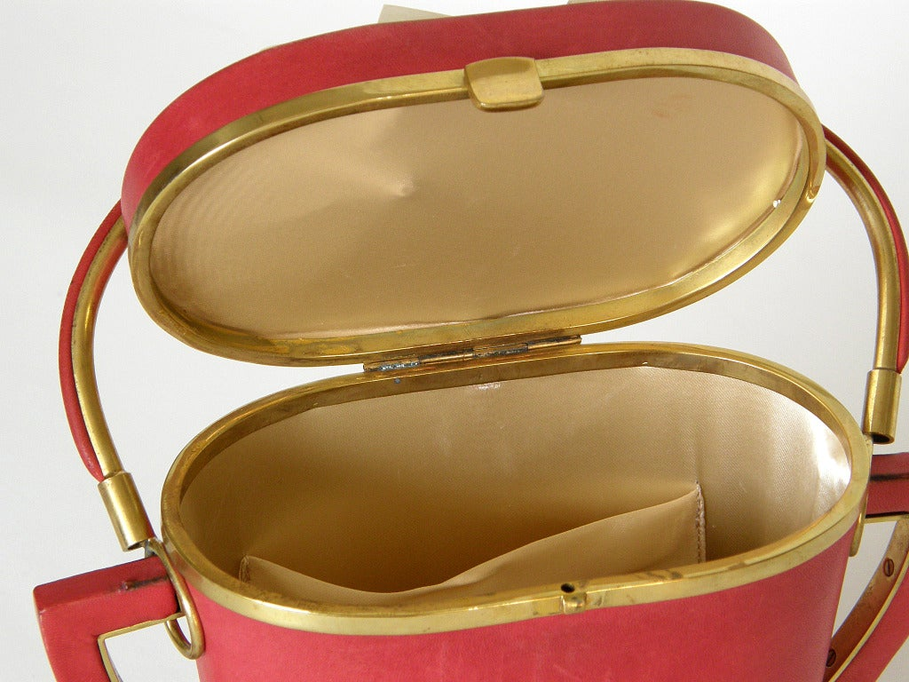 Anne-Marie Sugar Bowl Handbag For Sale 2