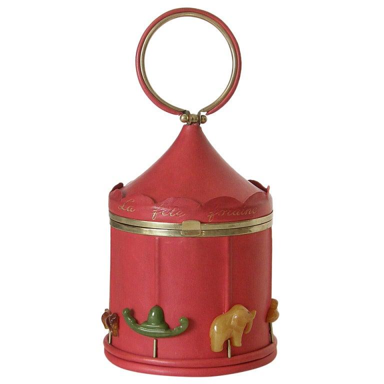 Anne-Marie Carousel Handbag For Sale