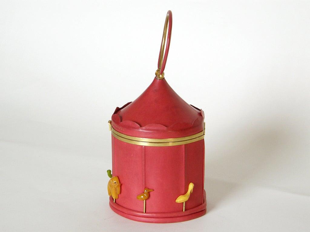 Women's Anne-Marie Carousel Handbag For Sale