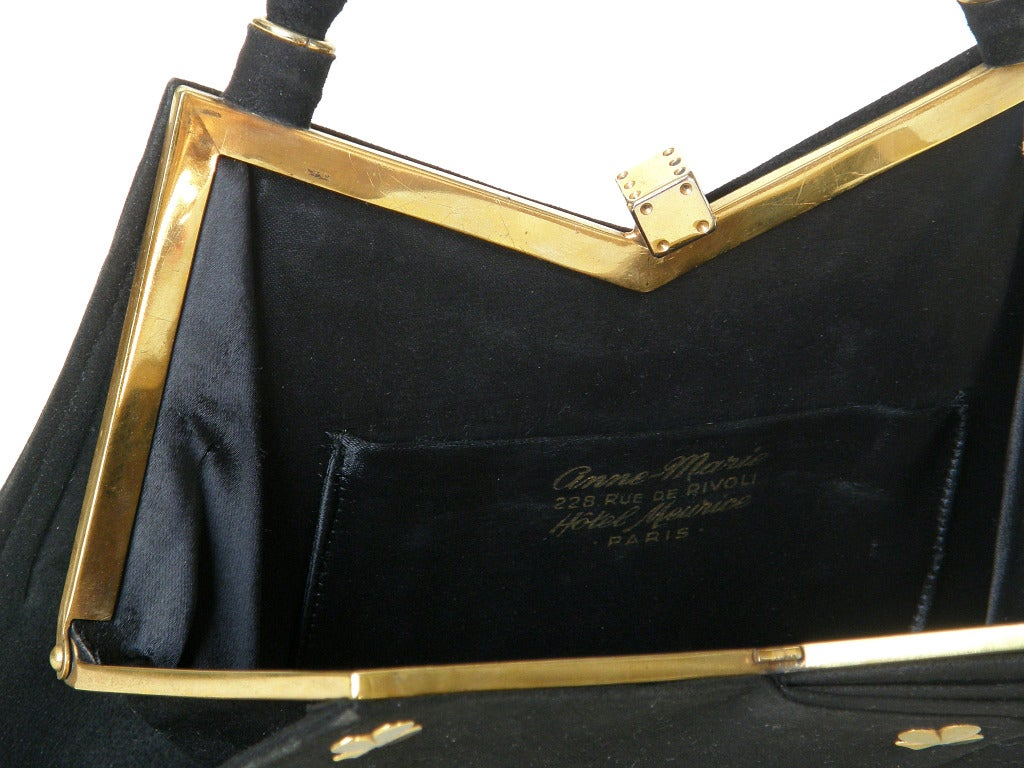 Anne-Marie Hand of Cards Handbag For Sale 4