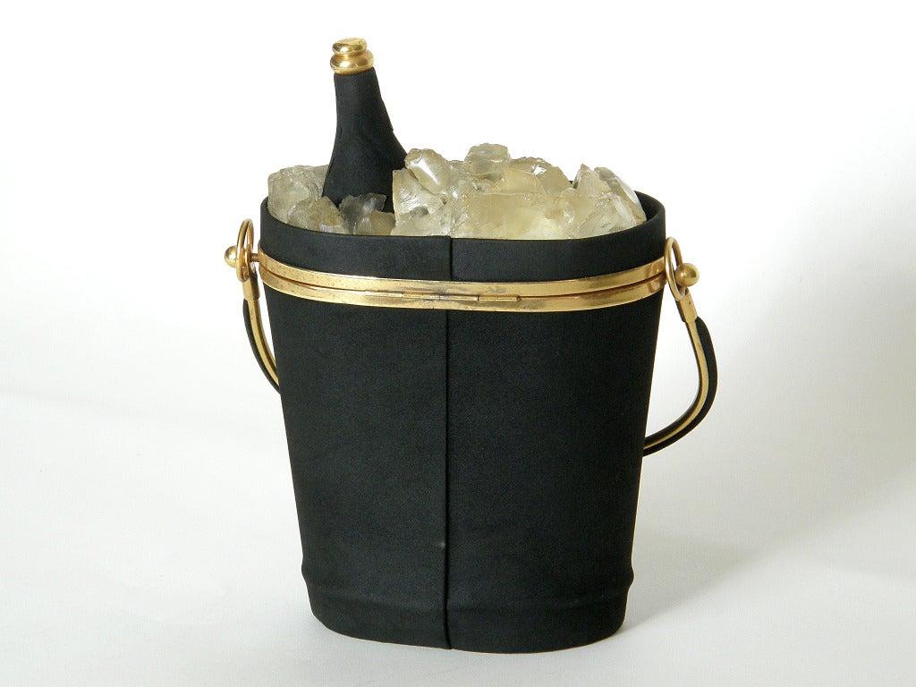 Anne-Marie Champagne Bucket Handbag 5