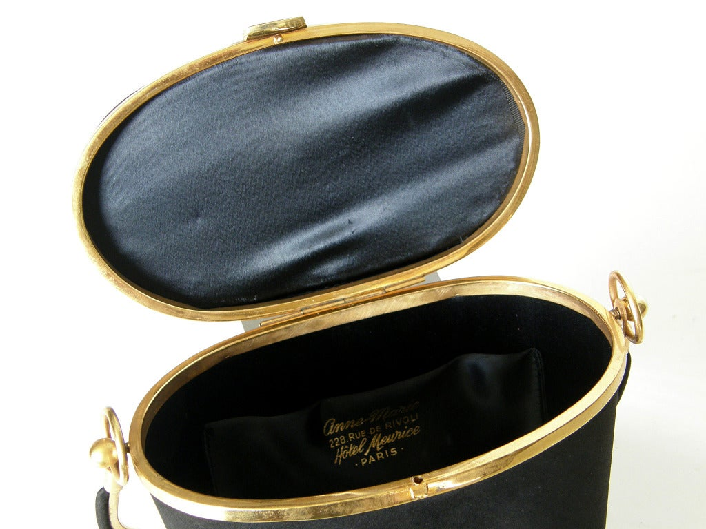 Anne-Marie Champagne Bucket Handbag For Sale 4