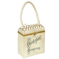 Anne-Marie Chesterfield Cigarettes Handbag