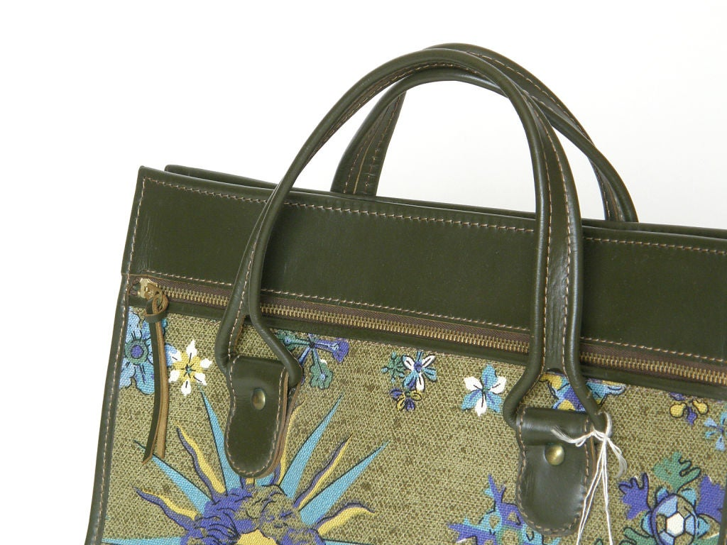 Hartmann Sun God Tote Bag In Good Condition For Sale In Chicago, IL