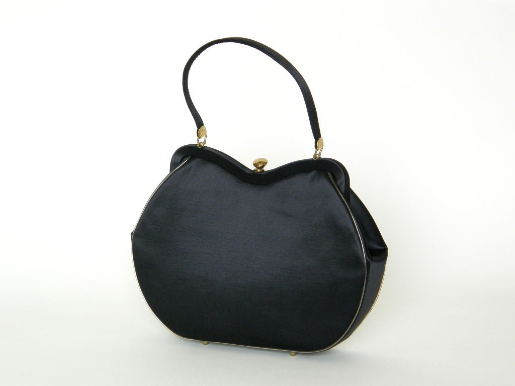 Printed Silk Handbag 2