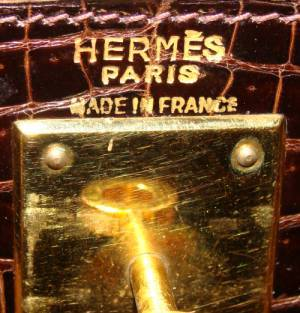Hermes Crocodile Kelly Bag Handbag 5